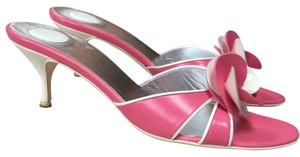 Céline Pink and white Sandals