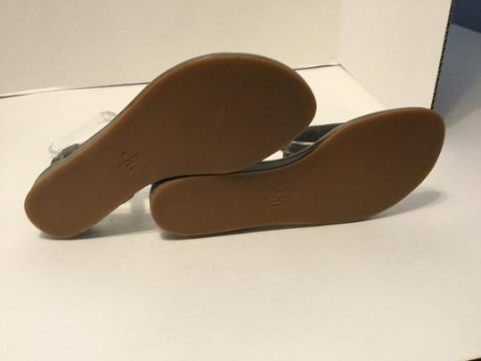 Cole Haan Snake Pattern W NEW Multi color leather thong ankle straps padded insoles flat Sandals