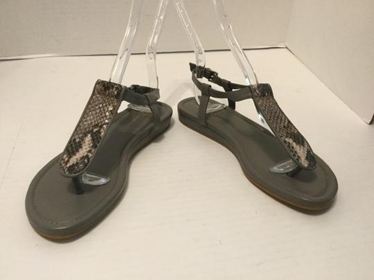 Cole Haan Snake Pattern W Make an offer NEW Multi color leather thong ankle straps padded insoles flat Sandals