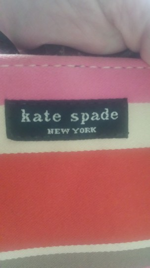 Kate Spade Tote in Multi-color (brown/orange/pink/cream)
