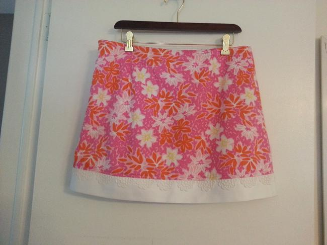 Lilly Pulitzer Shorts Palm Beach Pink Swanky