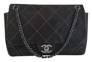 Chanel Vintage Jumbo Classic Caviar Shoulder Bag