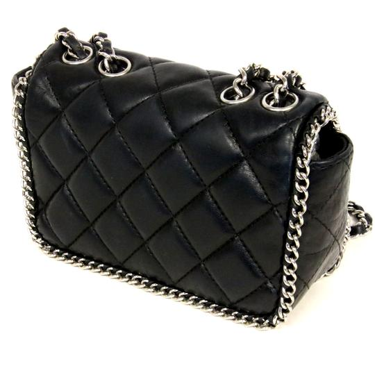 7fe8dd15f20f Chanel Mini Classic Boy Flap Bag A01115 Black | Stanford Center for ...