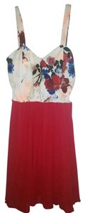 Style Rack short dress Red Multi on Tradesy