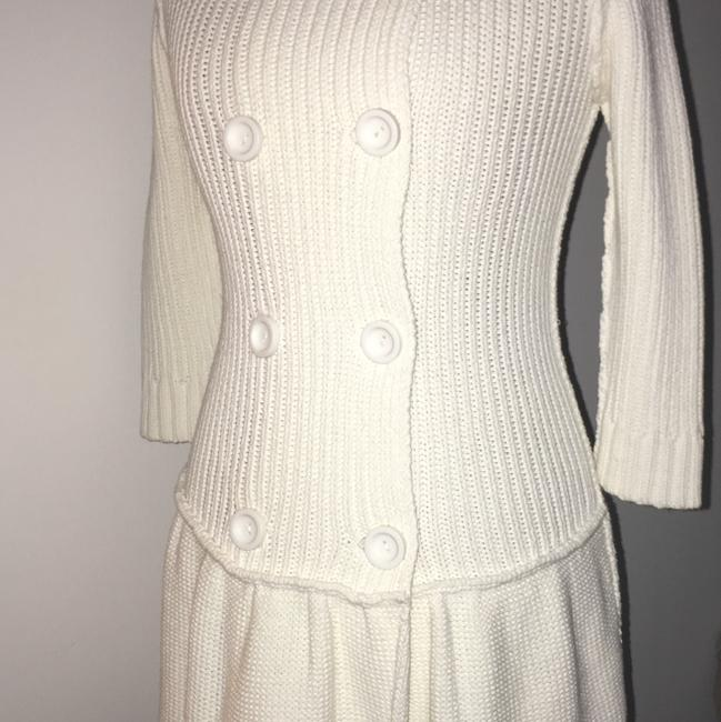 Susana Monaco short dress White Sweater Spring Cotton on Tradesy