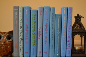 Vintage Style Books - Bright Blue 775 - Set Of 10
