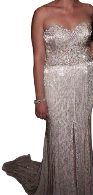 Tony Bowls Beaded Dress
