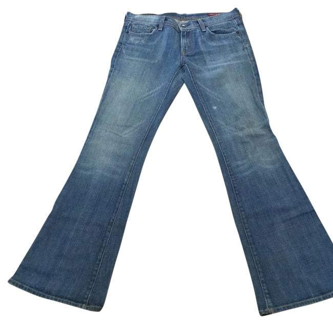 Preload https://item1.tradesy.com/images/citizens-of-humanity-faded-denim-ingrid-002-strech-low-waist-flair-boot-cut-jeans-size-28-4-s-14898370-0-1.jpg?width=400&height=650
