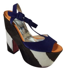 Christian Louboutin So Bella 160 Multicolor Platforms