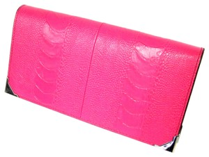 Alexander Wang Alexander Wang Signature 2015 Runway Crocodile Leather Prisma Clutch