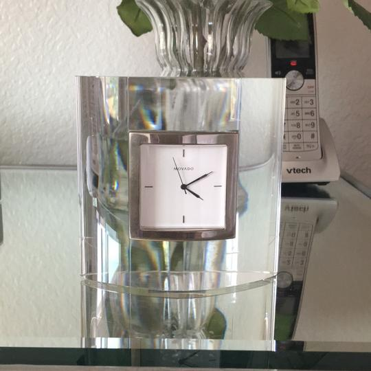 Movado ~ Movado desk clock, no box