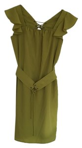 Jessica Simpson short dress Lime green on Tradesy