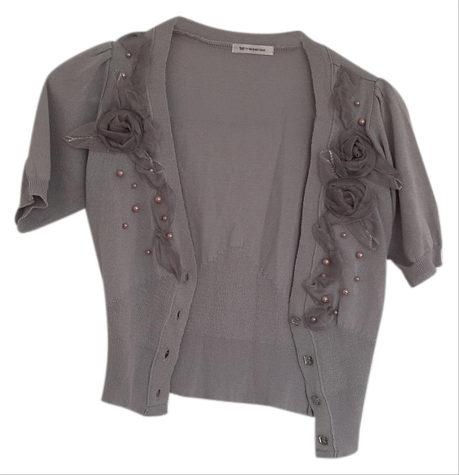 Silver /Grey Cardigan Size 2 (XS) from Anna Chavez on Tradesy