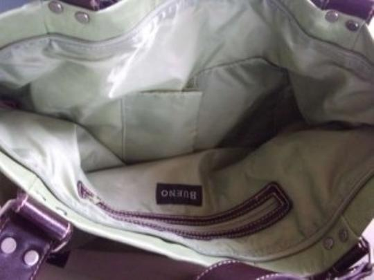 Other New Bueno W/ Metal Hardware 2 Outside Pockets 2 Inside Pockets & 1 Zipper Inside Pocket Tote in Green