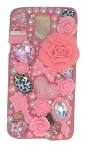 Other Samsung S5 Pink with roses and other items Cellphone cover