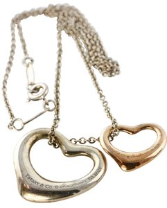 Tiffany & Co. * Tiffany & Co Peretti Spain Heart Charm Necklace