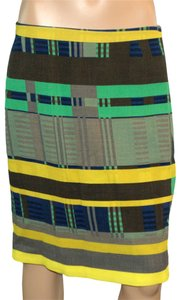 Lafayette 148 New York Skirt Yellow / Green / Gray / Black