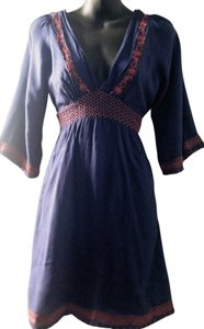 California Vintage short dress Blue on Tradesy