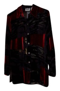 Chico's Top Black/Red