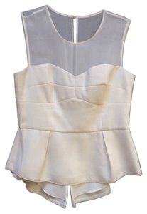 BCBGMAXAZRIA Top Off-white