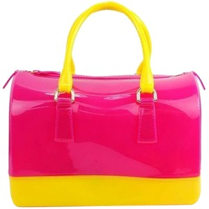 Other Satchel in Pink/Yellow