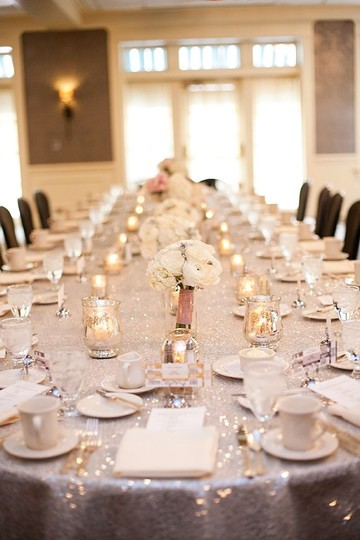 Ivory/Champagne 13 Table Runners 2 120