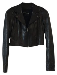 Leather Cropped Leather Jacket