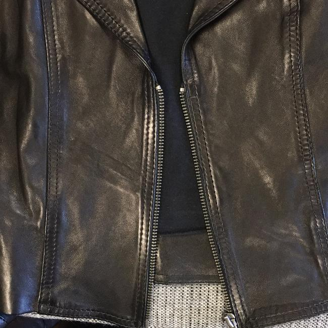 Other Cropped Leather Jacket