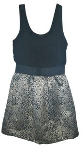 IZ Byer California short dress Black Gold on Tradesy