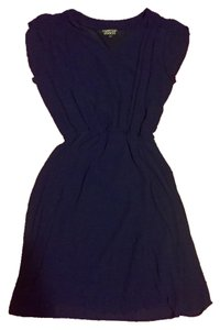 Papermoon short dress Navy Spring on Tradesy
