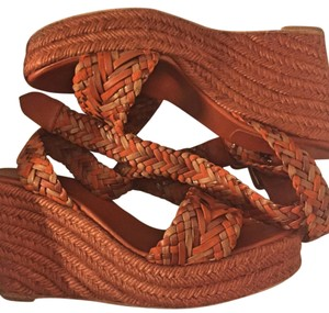 Hermès Brown, brick Wedges