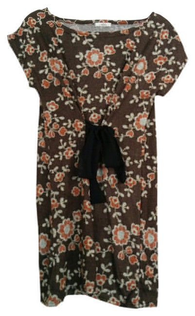 Preload https://item2.tradesy.com/images/brown-tie-above-knee-short-casual-dress-size-14-l-14902801-0-1.jpg?width=400&height=650