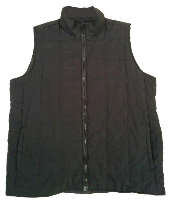 Casual Gear Structured Quilted Zipper Vest