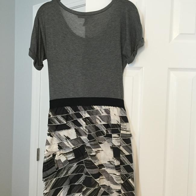 BCBGMAXAZRIA short dress Black; White; Gray on Tradesy