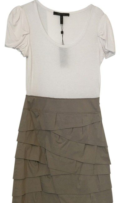 Preload https://item5.tradesy.com/images/bcbgmaxazria-white-tan-na-above-knee-short-casual-dress-size-2-xs-14903419-0-1.jpg?width=400&height=650
