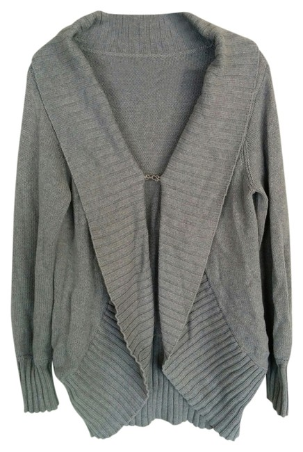 Preload https://item1.tradesy.com/images/haute-hippie-grey-gray-cocoon-cardigan-size-os-one-size-14903425-0-1.jpg?width=400&height=650