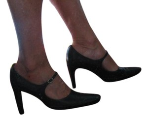 Stephane Kelian Mary Jane Size 5.5 Black Pumps