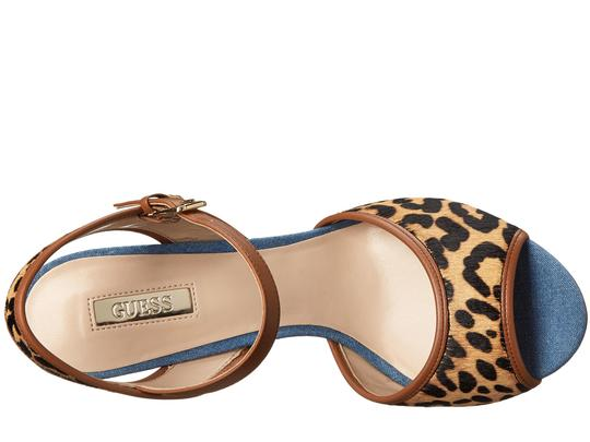 Guess Leopard Haircalf Sandals