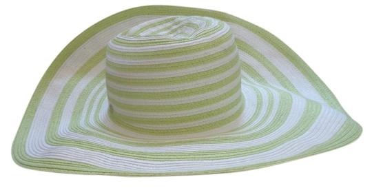 Preload https://item1.tradesy.com/images/victoria-s-secret-green-and-white-stripped-summer-hat-14904130-0-1.jpg?width=440&height=440