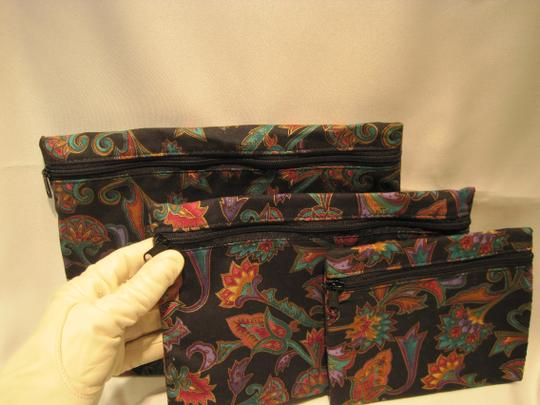 Other Triune 'Night Flowers' Nesting Cosmetic Bags - [ Roxanne Anjou Closet ]