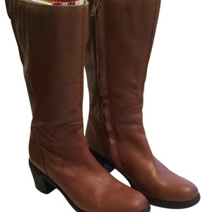 Cognac Brown Boots