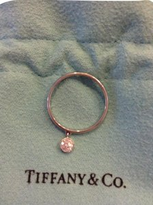 Tiffany & Co. TIFFANY & CO. Platinum Diamond Charm Jazz Ring Size 6.25