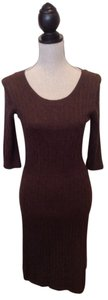 Merona short dress Brown on Tradesy