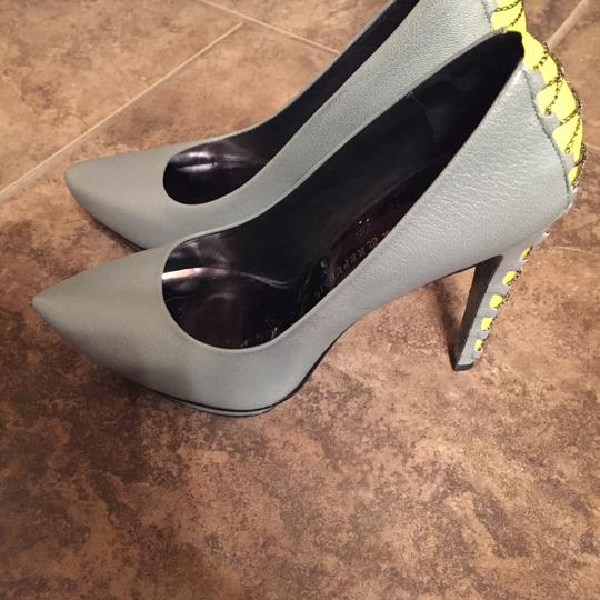 Rock & Republic Grey/ yellow Platforms