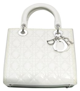 Dior Lady Tote in Off White