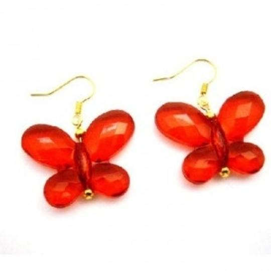 Preload https://item3.tradesy.com/images/red-looking-butterfly-striking-butterfly-gold-hook-earrings-149062-0-0.jpg?width=440&height=440