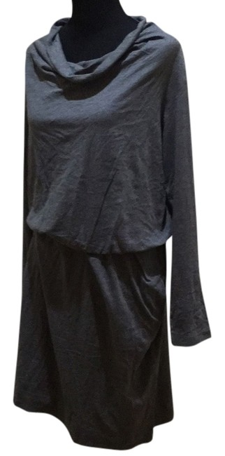 Preload https://item2.tradesy.com/images/dkny-gray-knee-length-workoffice-dress-size-12-l-14907121-0-1.jpg?width=400&height=650