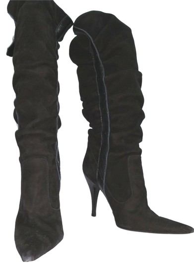 Preload https://img-static.tradesy.com/item/14907187/dolce-and-gabbana-black-d-g-leather-trim-suede-395-bootsbooties-size-us-9-regular-m-b-0-2-540-540.jpg