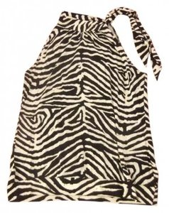 Michael Kors Top Zebra Print (Black and White)