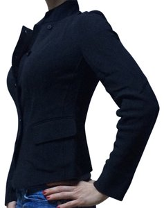 Donna Karan Charcoal Grey- almost black Blazer